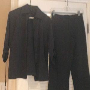 Excellent condition suit with unique blazer